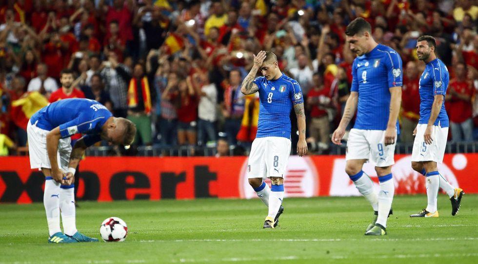 Spagna Italia Mondiale Russia 2018