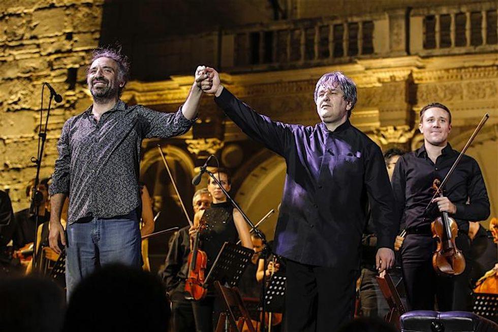 Pappano e Bollani a Spoleto: il concerto finale del Festival dei Due Mondi