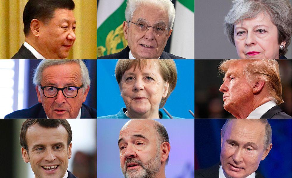 stipendi-politici-presidenti-Juncker-Mattarella-Trump