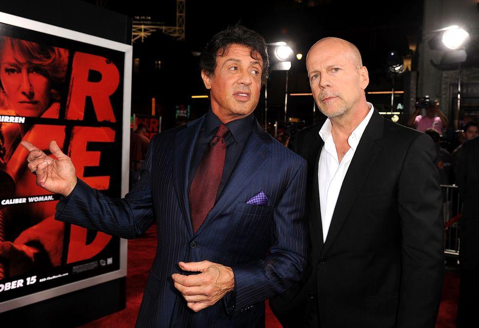 """Sylvester Stallone: """"Bruce Willis sei un fallito"""""""