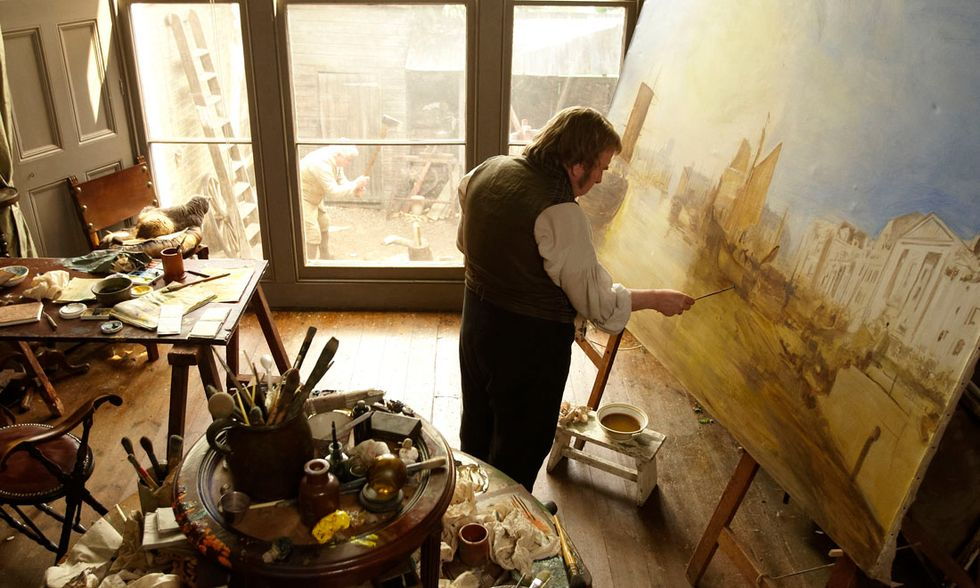 """Timothy Spall in """"Turner"""""""