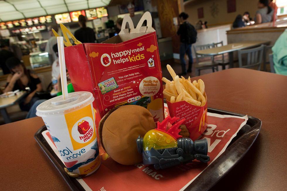 Il Cile mette al bando l'Happy Meal di McDonald's