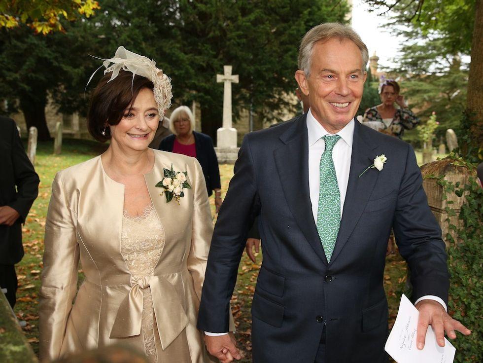 Tony e Cherie Blair verso il divorzio