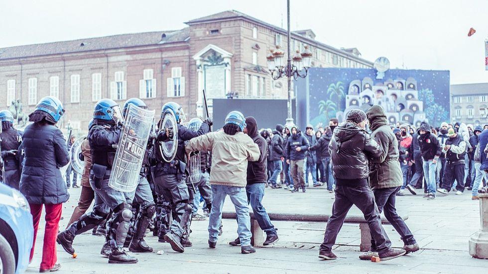Protesta dei forconi: l'uomo in rivolta