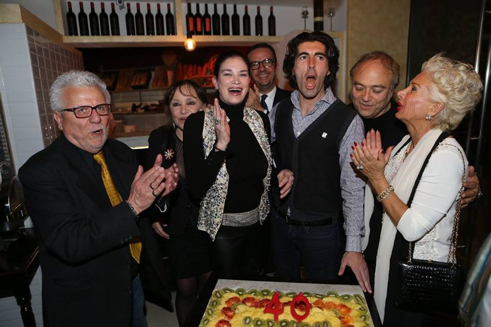 TORTA CON PACIFICI, DEMETRA HAMPTON, TONY MALCO,CONNY CARACCIOLO