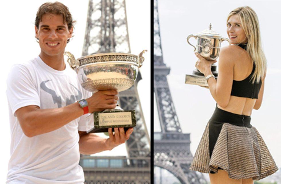 Roland Garros: Nadal record, Sharapova... bustina di tè