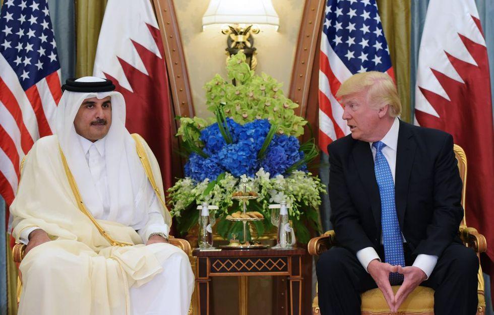 Trump-Al-Thani