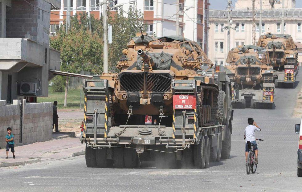Turchia-armi-guerra-Siria-Curdi
