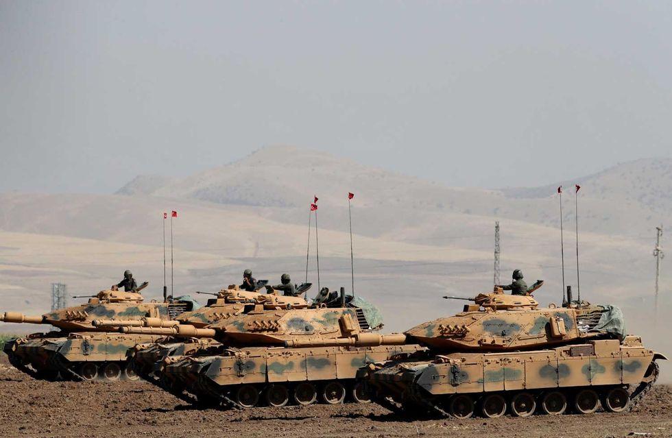 Turchia-Siria-esercito-guerra