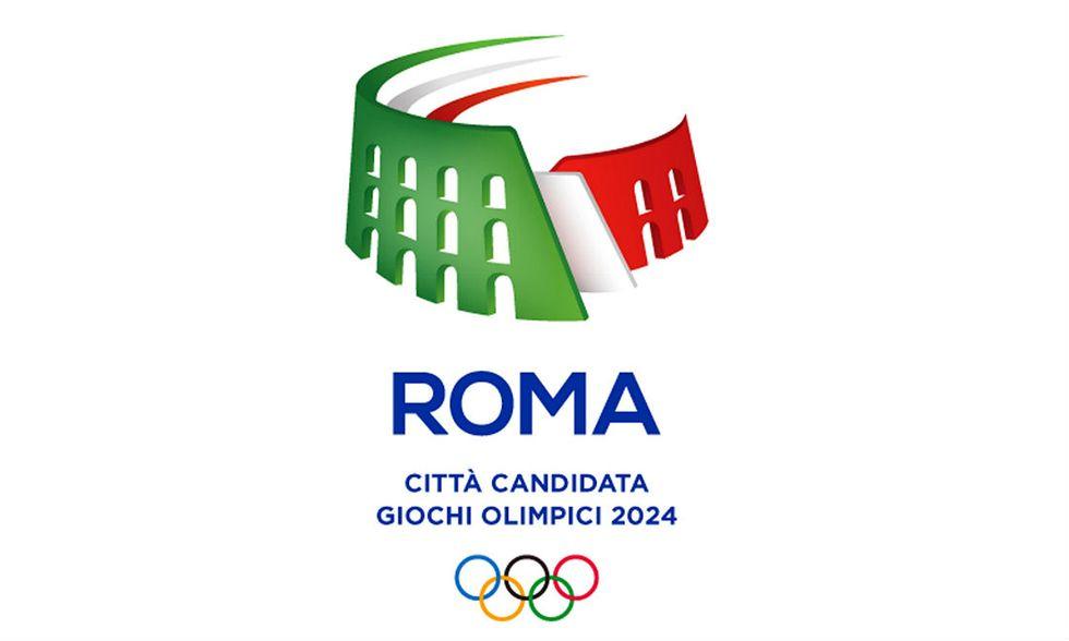 Roma 2024: il logo della candidatura alle Olimpiadi