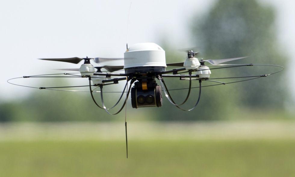 Corso di guida per droni