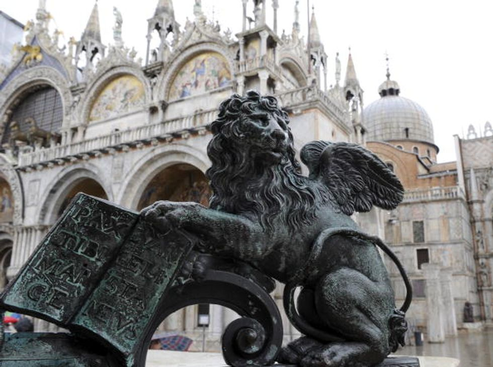 Il turismo, Venezia e la Basilica di San Marco (chiusa)