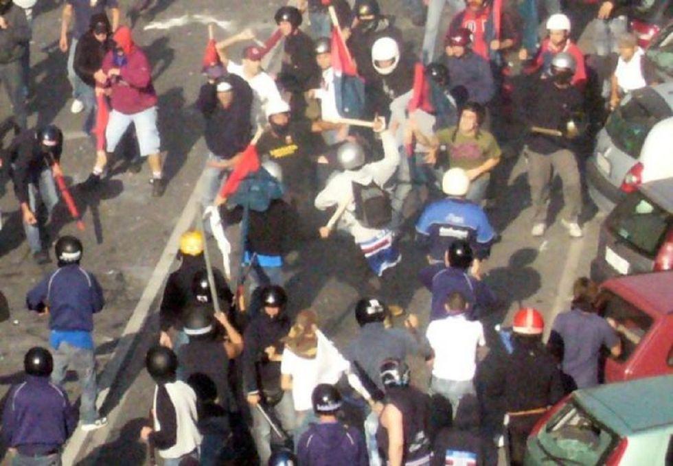 Derby di Genova 2010: 14 tifosi condannati