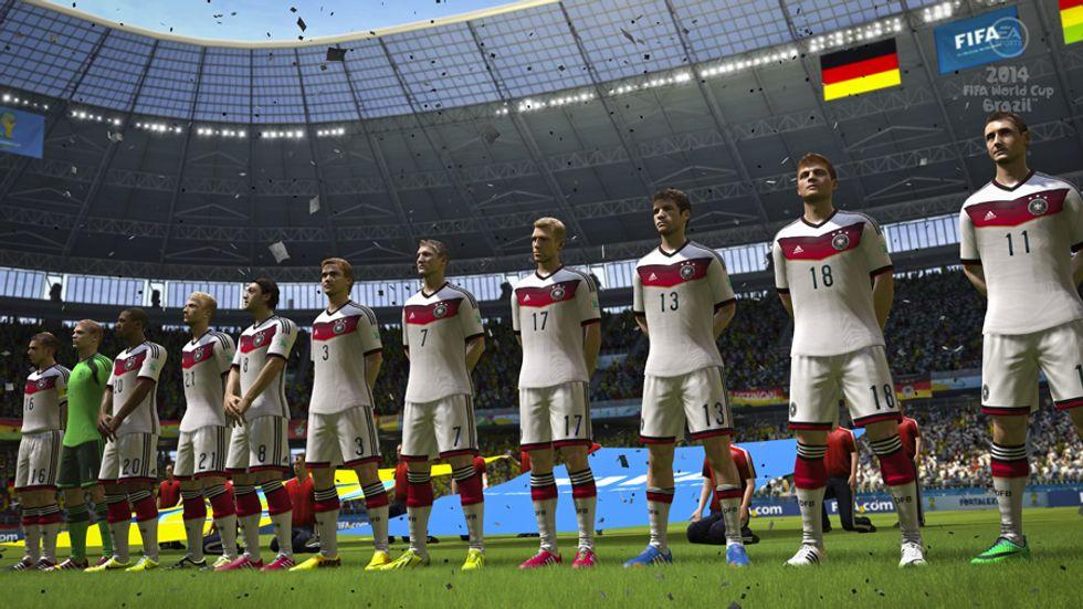 I Mondiali secondo FIFA: vince la Germania