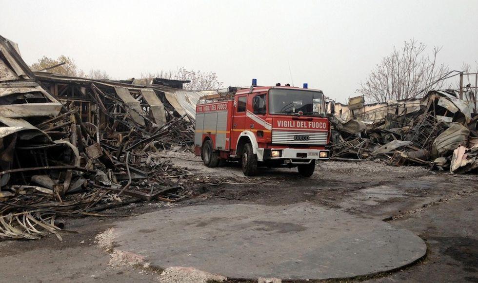 Grande Fratello, la casa del reality distrutta da un incendio