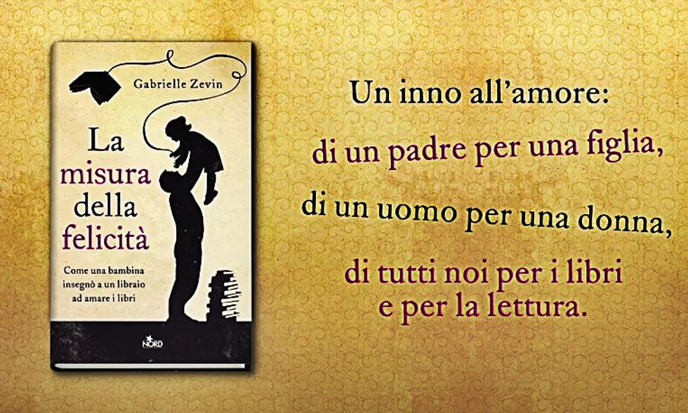 """""""La misura della felicità"""", un romanzo sui libri"""