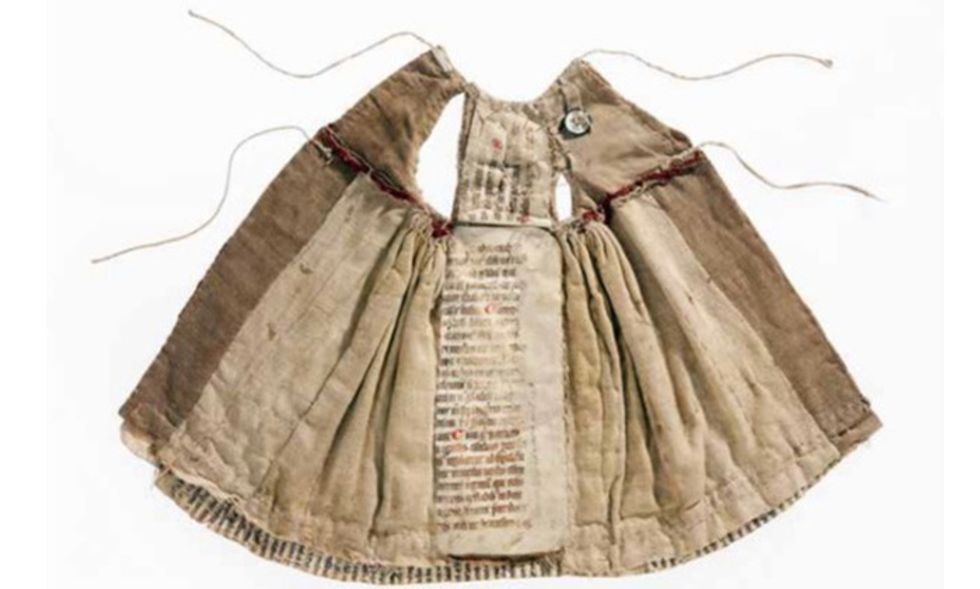 Libri e manoscritti da indossare