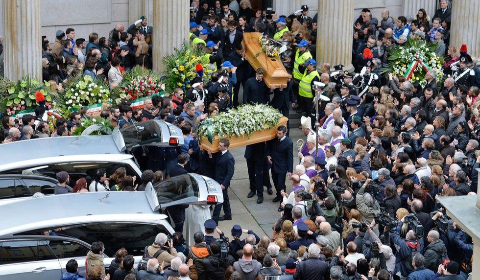 I funerali delle vittime di Tunisi - LE FOTO