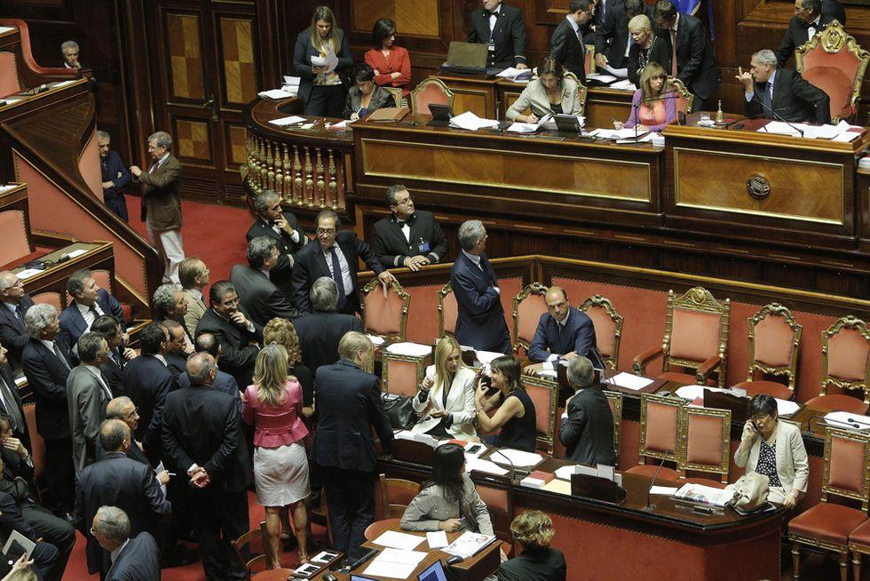 Alfano, Stefano Esposito contro i senatori Pd usciti dall'aula