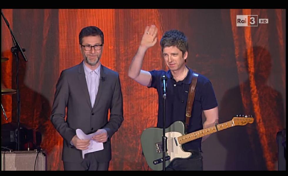 """Noel Gallagher vs Fazio: """"L'intervista a Che tempo che fa? Una sofferenza"""""""