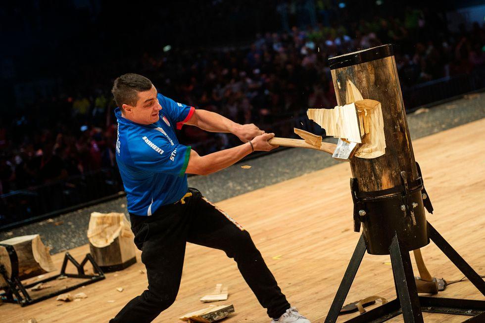 Stihl Timbersports: a Firenze i Mondiali dei taglialegna
