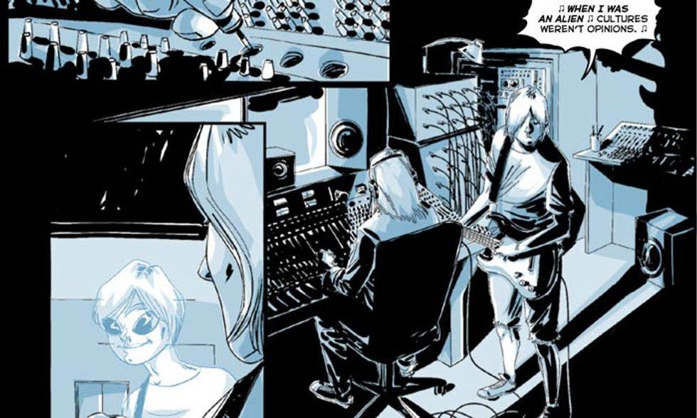 La vita di Kurt Cobain in un fumetto – Le immagini in anteprima
