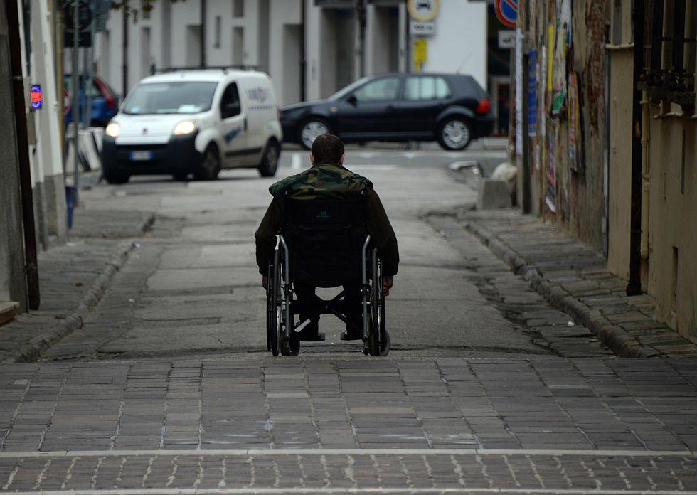 Disabile_carrozzella