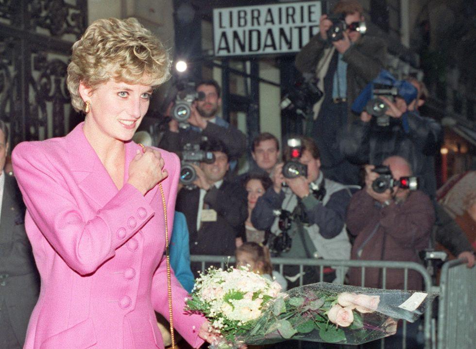 Una delle apparizioni pubbliche di Lady Diana