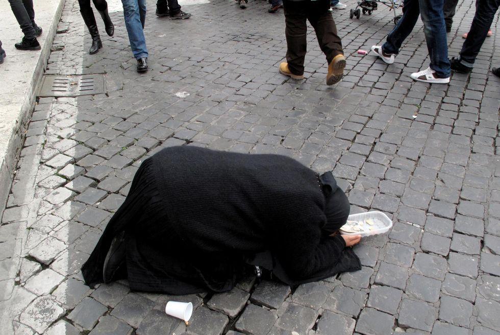 Gli schiavi dell'elemosina di Milano
