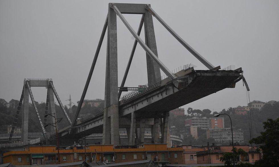 ponte Morandi crollo Genova