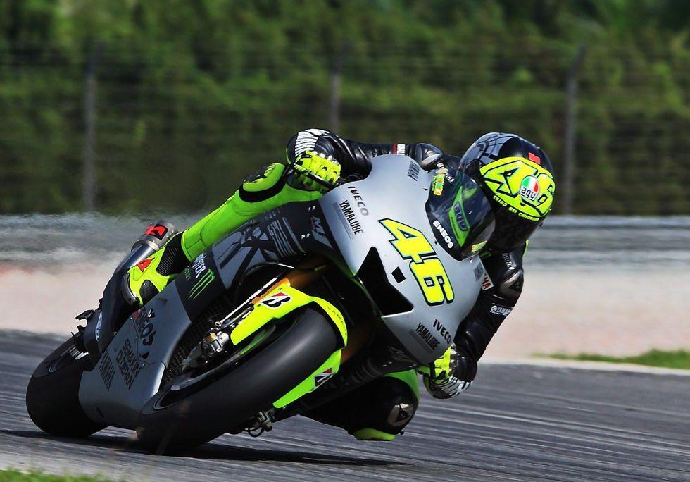 MotoGP Sepang Test: Rossi da podio