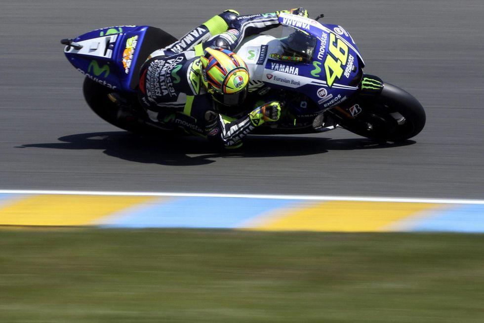 GP di Francia: Rossi c'è, la Yamaha un po' meno