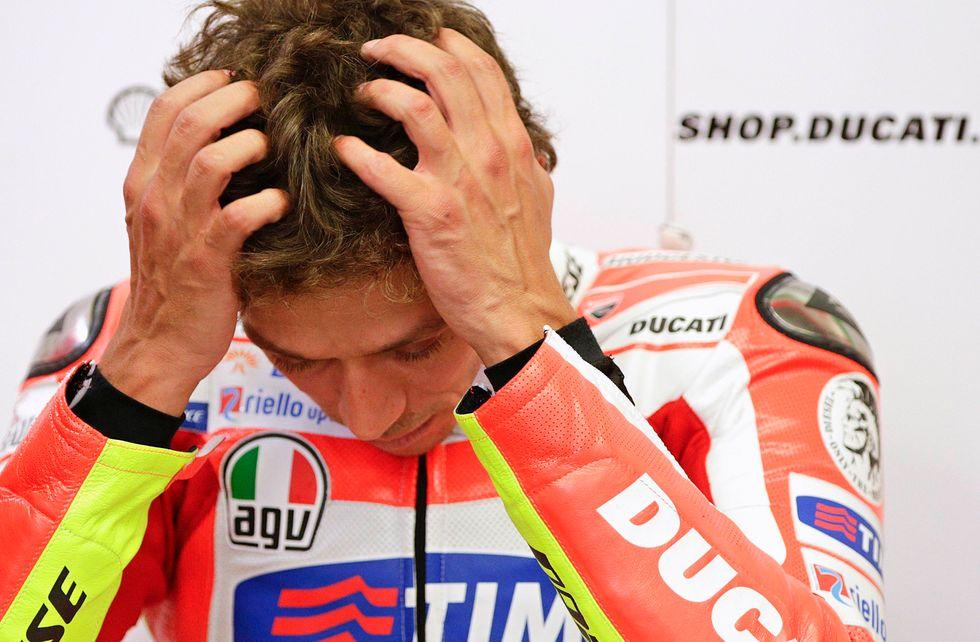 "MotoGP: Rossi vs i ""giochi"" Preziosi"