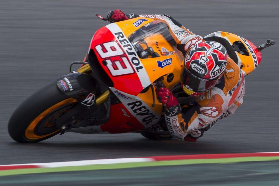 MotoGp: Gp Catalogna: Marquez infallibile, Rossi è 2°