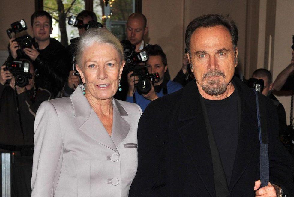 Vanessa Redgrave e Franco Nero