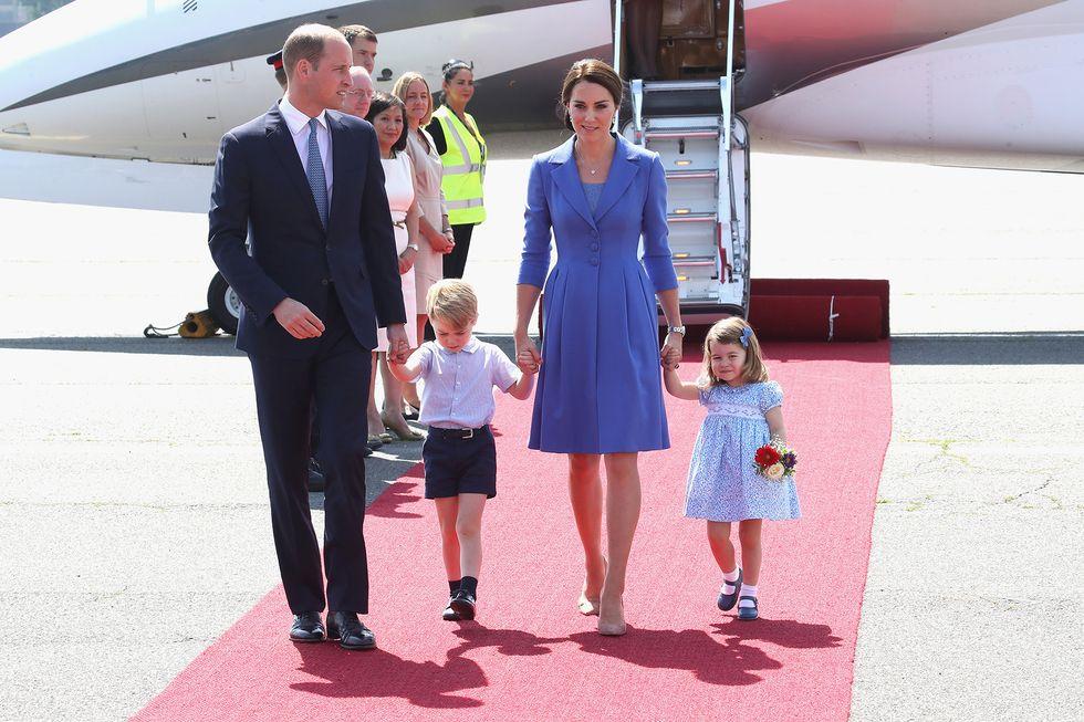 Viaggio in Polonia e Germania per William & Kate