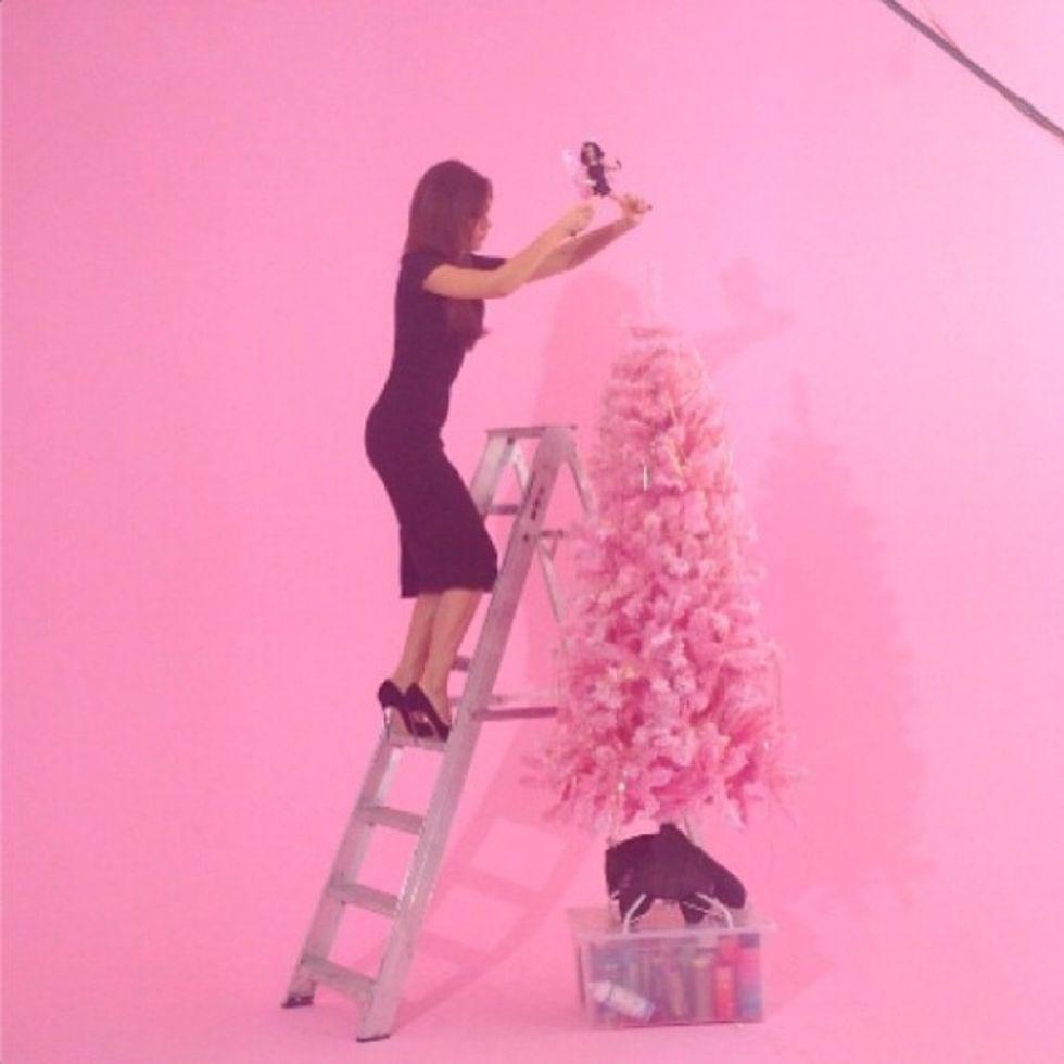 L'albero fashion di Victoria Beckham