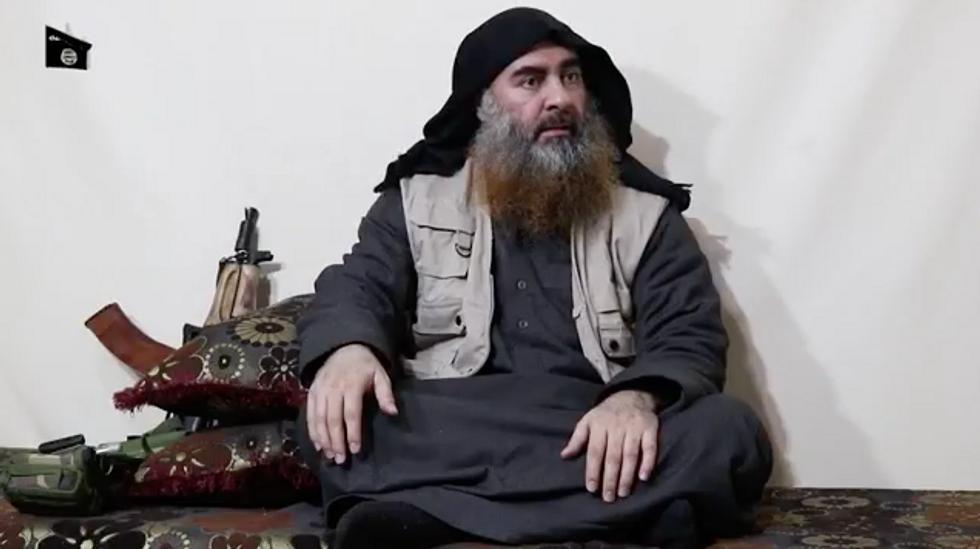 video Al Baghdadi Isis