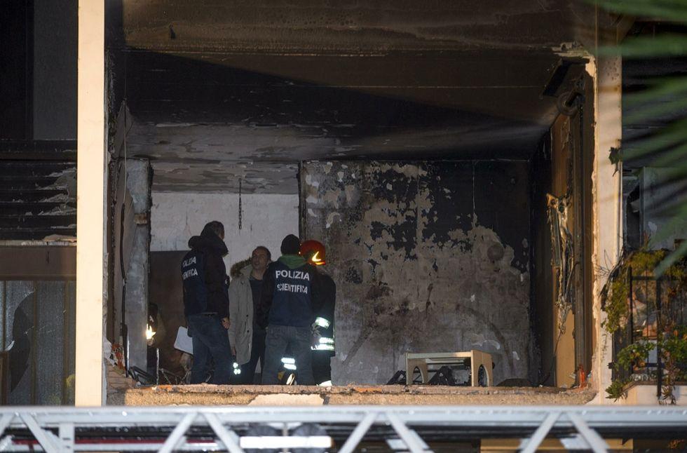 Esplosione in un palazzo a Roma: cosa è successo