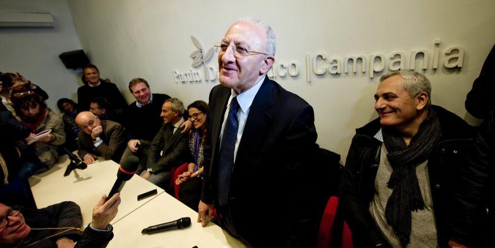 Primarie Pd: in Campania vince De Luca