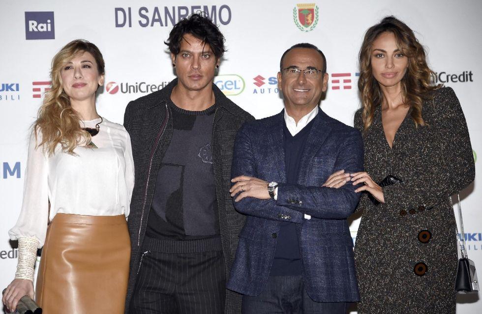 Sanremo 2016 Carlo Conti cast