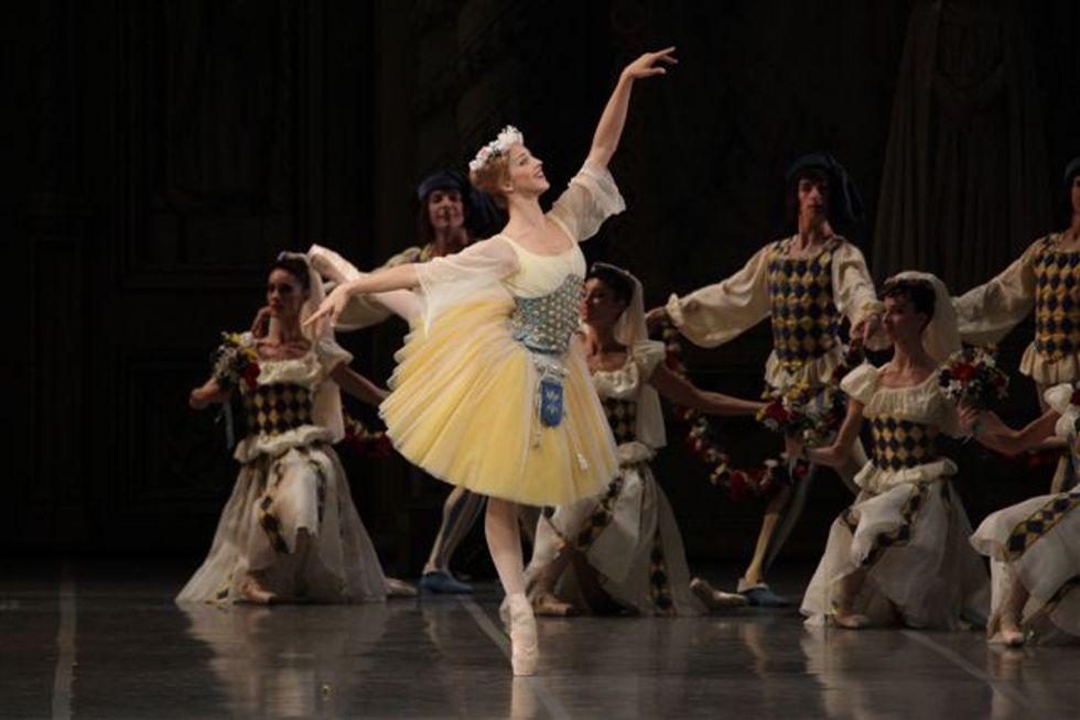 Raymonda, alla Scala il timido debutto di Virna Toppi