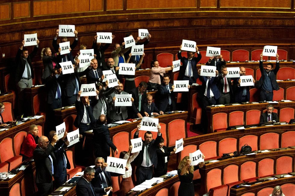 voto senato Ilva scudo legale