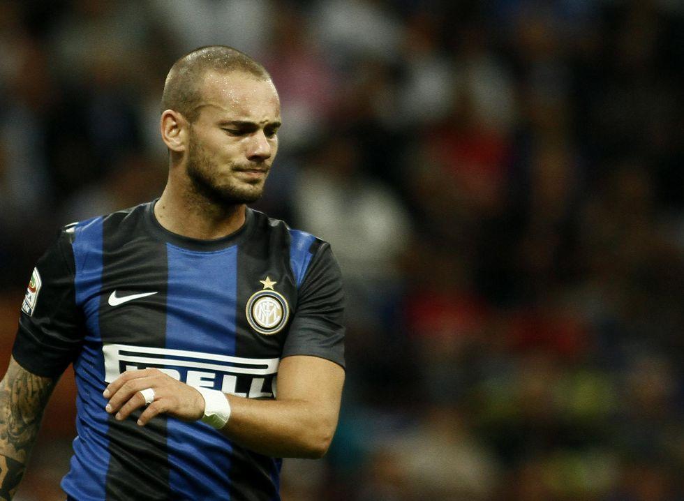 Sneijder, e se andasse via a gennaio?