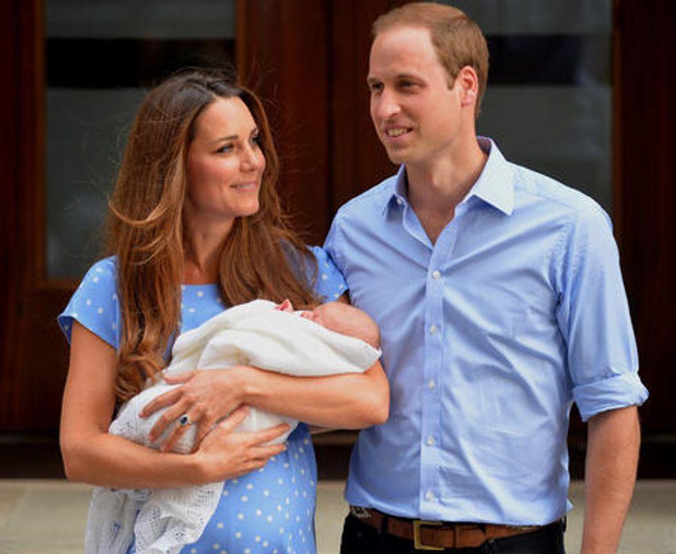 Royal Baby, 50 guardie del corpo per la sicurezza del principino George