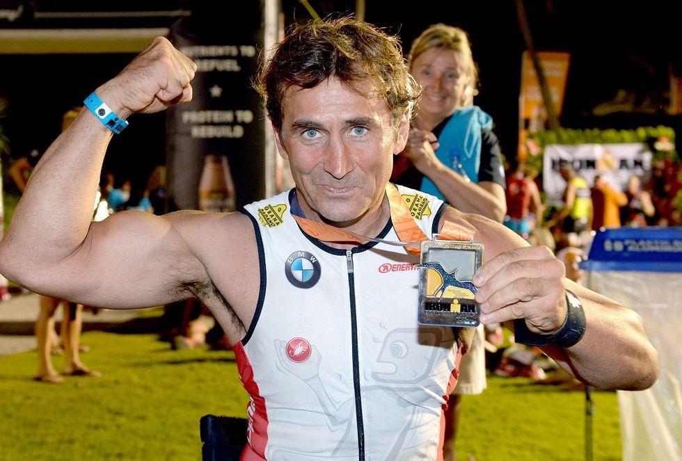 """Fabian: """"Zanardi, l'Ironman della semplicità"""""""